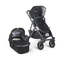 Uppababy Vista Stroller 2016 Jake Black with Rain Cover