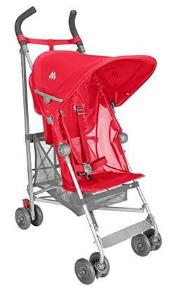 Maclaren Volo Lightweight Umbrella Easy Fold Stroller Red WS