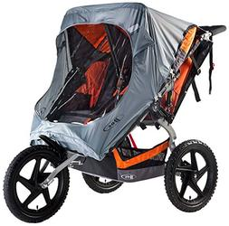 BOB Weather Shield for Pre-2016 Duallie Fixed Wheel Stroller